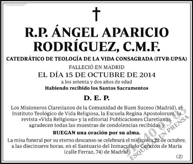 Ángel Aparicio Rodríguez